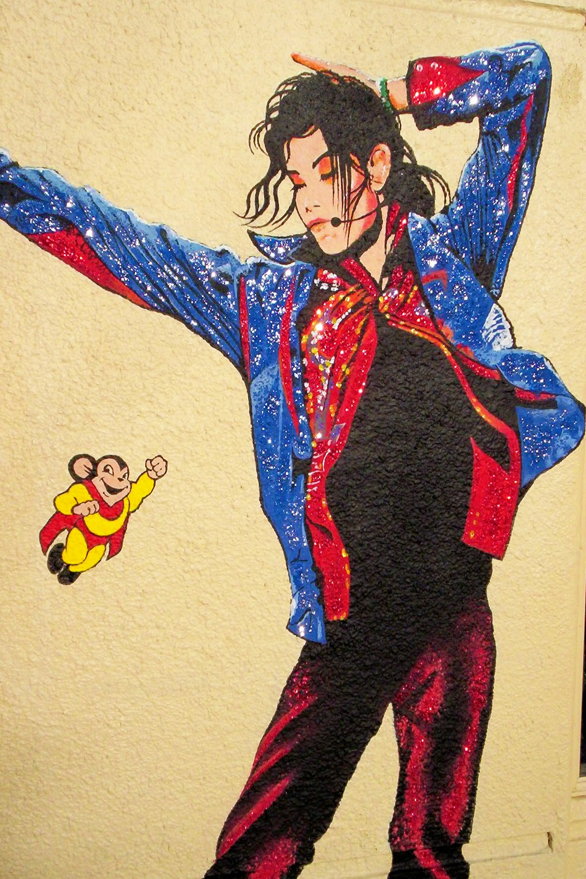 Michael Jackson Mural , Tower District, Fresno, CA